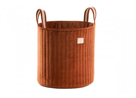 Savanna toy bag • velvet wild brown