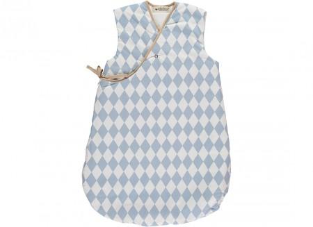 Montreal sleeping bag blue diamonds - 2 sizes