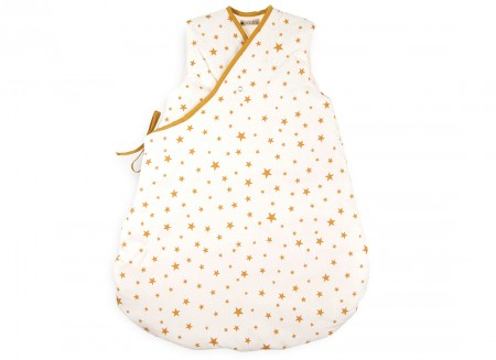 Montreal sleeping bag mustard stars - 2 sizes
