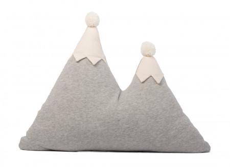 Snowy mountain cushion 42x50 gris vigoré