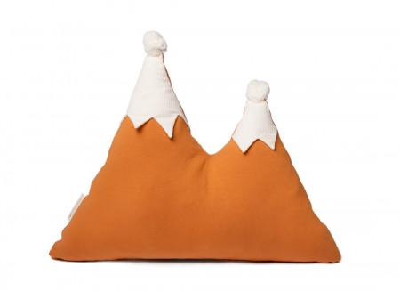 Snowy mountain cushion 42x50 sunset