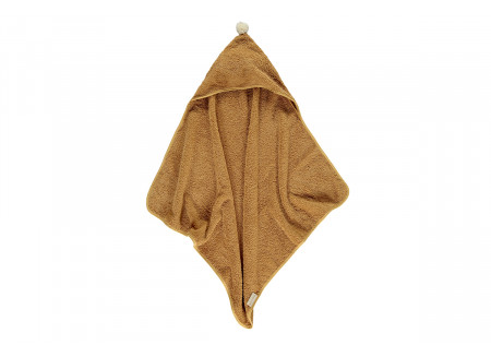 So Cute baby bath cape Caramel