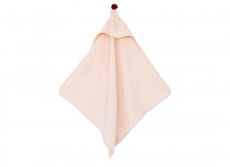 So Cute baby bath cape 73x73 pink