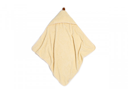So Cute baby bath cape • vanilla