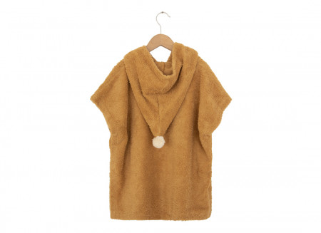 So Cute poncho 3-5yo caramel
