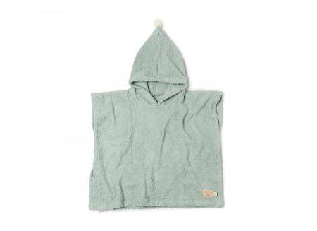 So Cute 3-5yo poncho • green