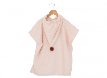 So Cute poncho 55x58 3-5 y pink