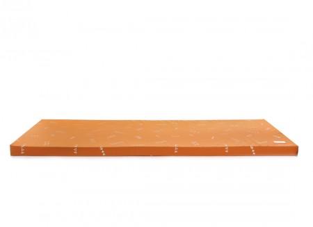 Saint Barth floor mattress 60X120X4 gold secret/ sunset
