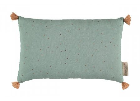 Sublim cushion • toffee sweet dots eden green