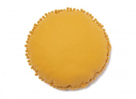 Sunny round cushion 37x37 farniente yellow