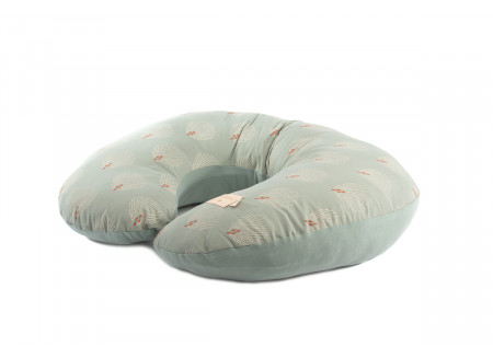 Nursing pillow Sunrise white gatsby antique green