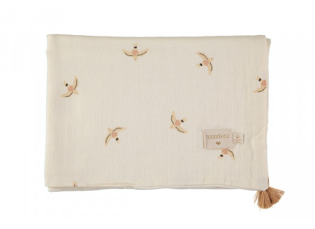 Treasure summer blanket nude haiku birds natural