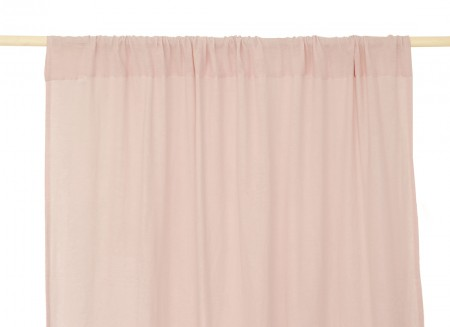 Utopia curtain • dream pink