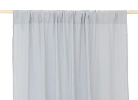 Utopia curtain • riviera blue