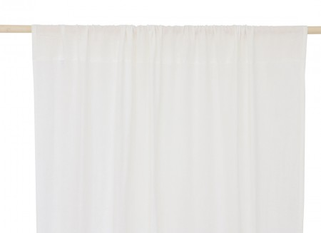 Utopia curtain 146x280 white
