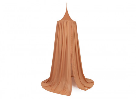 Vera Eyelet Lace canopy • sienna brown