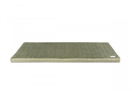 Zanzibar play mattress • velvet olive green