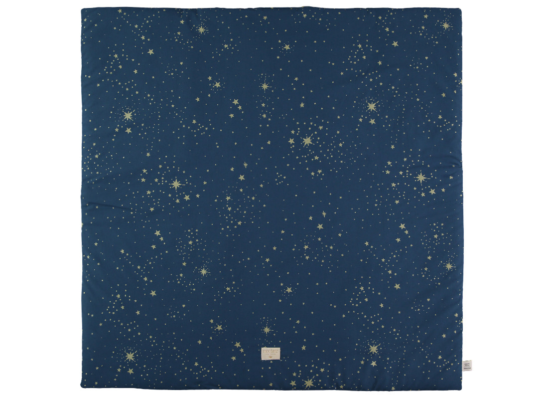 Colorado play mat 100x100 gold stella/ night blue
