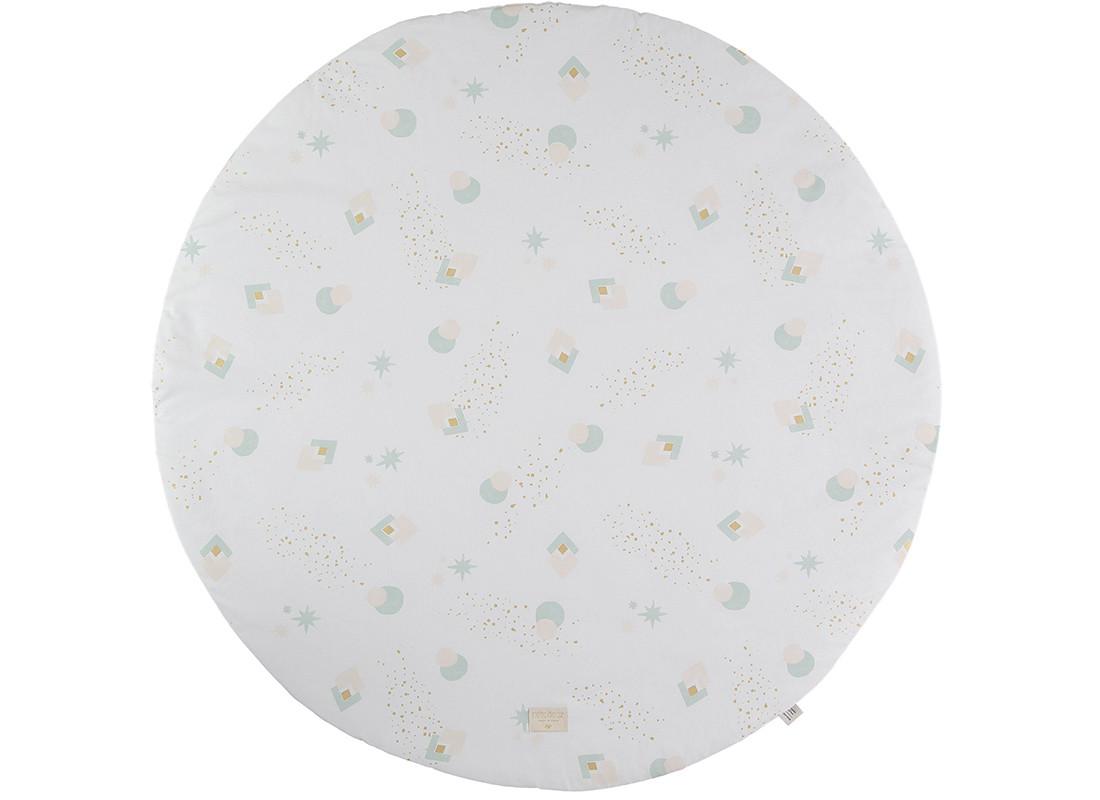 Full Moon play mat aqua eclipse/ white - 2 sizes