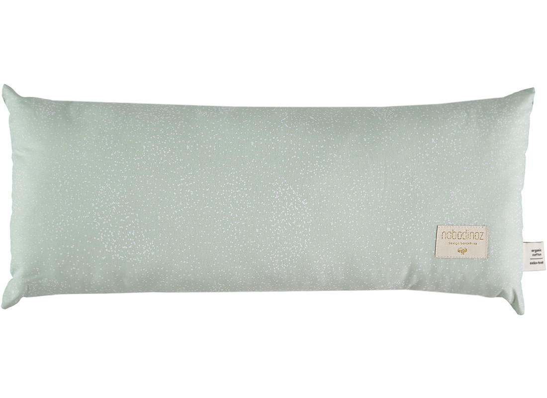Hardy cushion 22x52 white bubble/ aqua