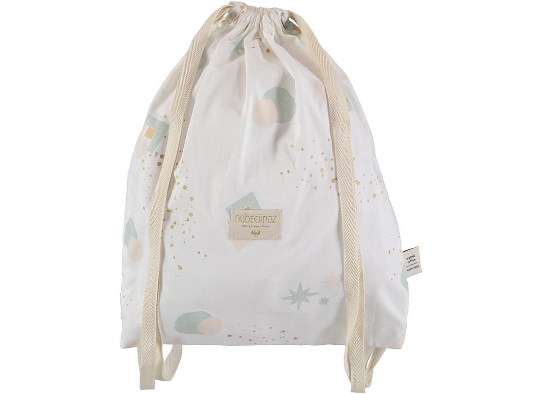 Koala backpack 40x34 aqua eclipse/ white