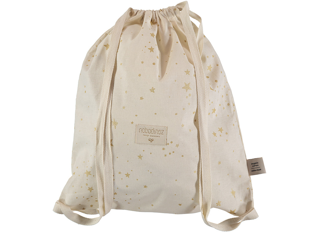 Koala backpack 40x34 gold stella/ natural