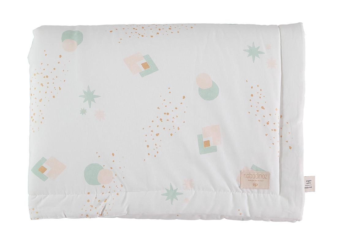 Laponia blanket aqua eclipse/ white - 2 sizes