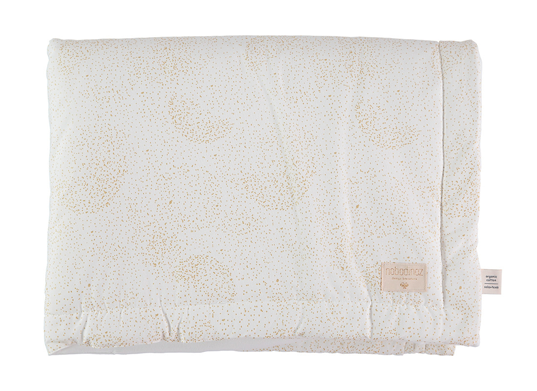Laponia blanket gold bubble/ white - 2 sizes