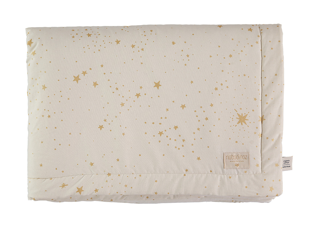 Laponia blanket • gold stella natural