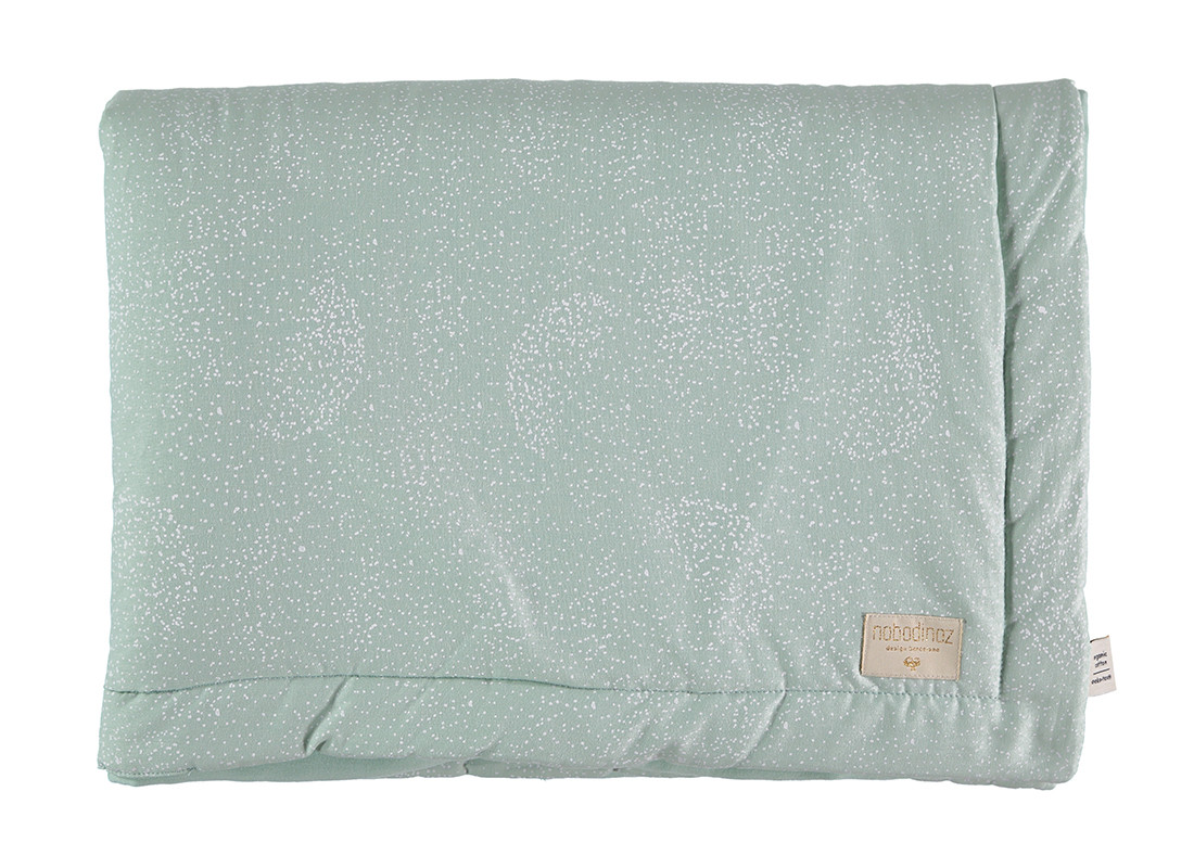 Laponia blanket white bubble/ aqua - 2 sizes