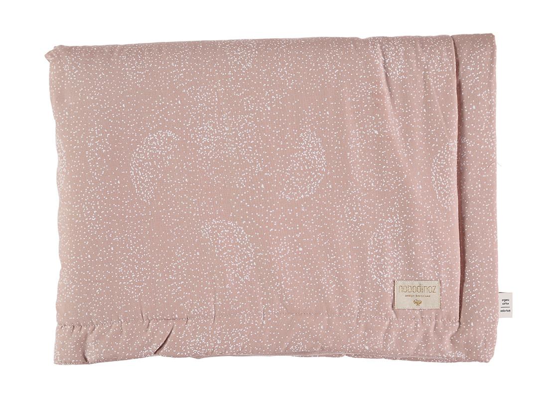 Laponia blanket white bubble/ misty pink - 2 sizes