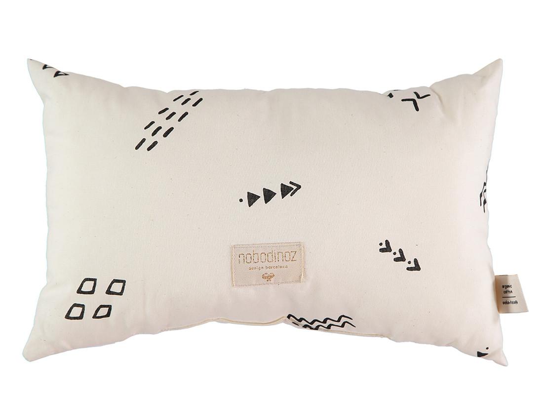 Laurel cushion 22x35 black secrets/ natural
