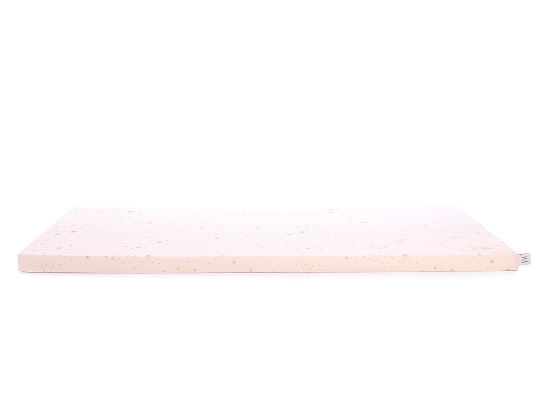 Saint Barth floor mattress 60X120X4 gold stella/ dream pink