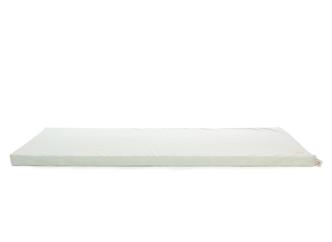 Saint Barth floor mattress 60X120X4 white bubble/ aqua