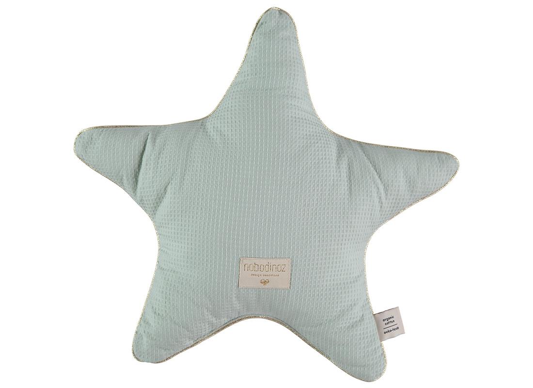 Aristote cushion • aqua