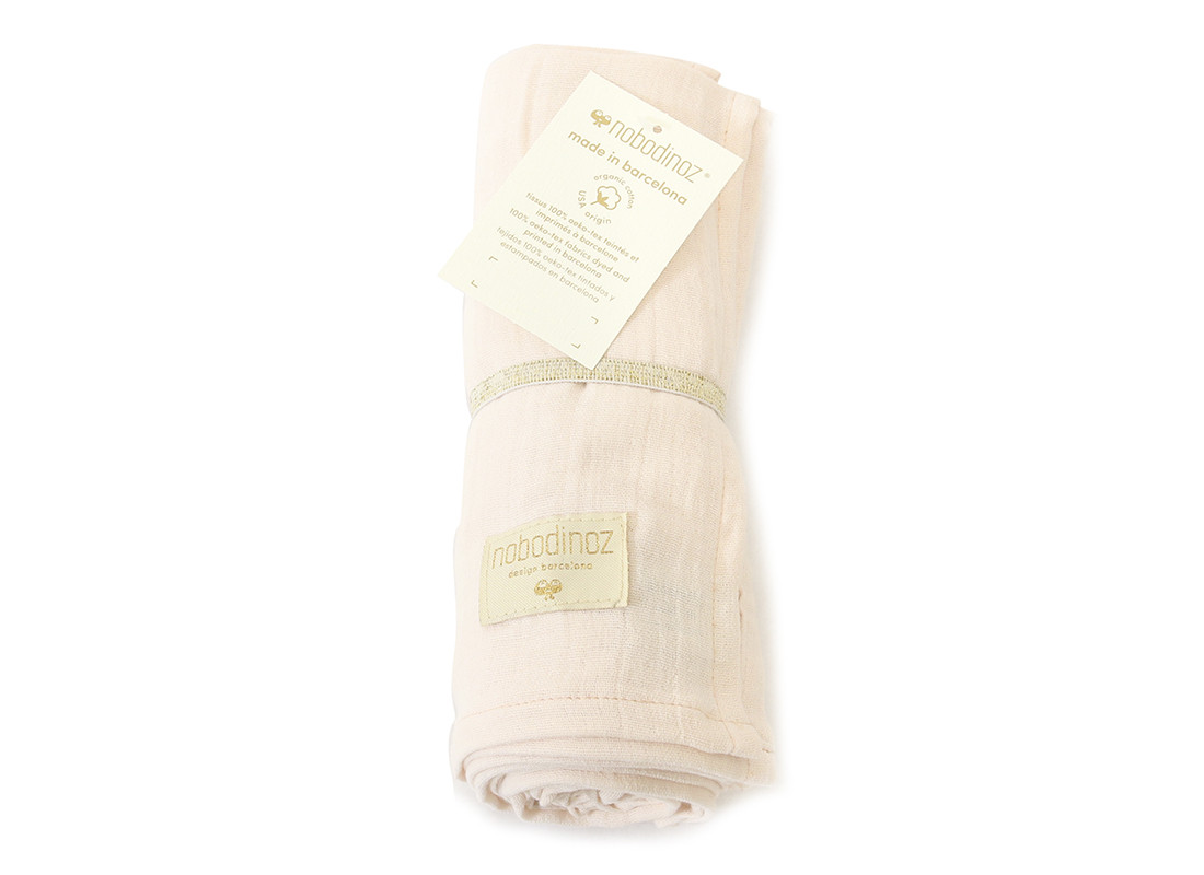 Butterfly swaddle 100X120 dream pink