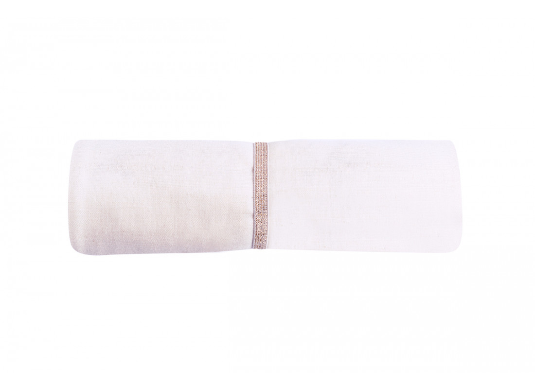 Butterfly swaddle • white