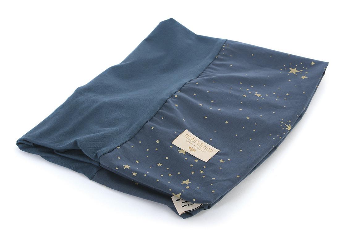 Calma changing cover 70x50 gold stella/ night blue