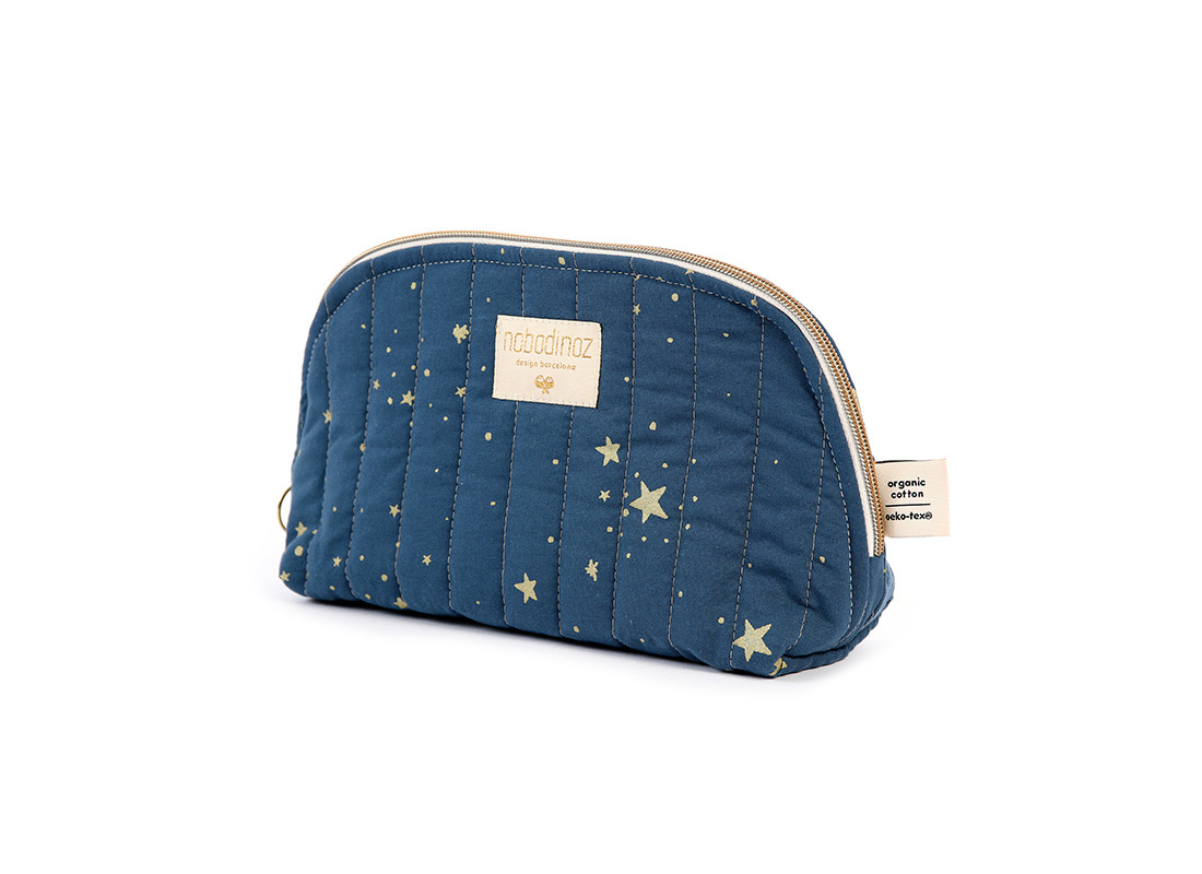 Holiday vanity case gold stella/ night blue - 2 sizes