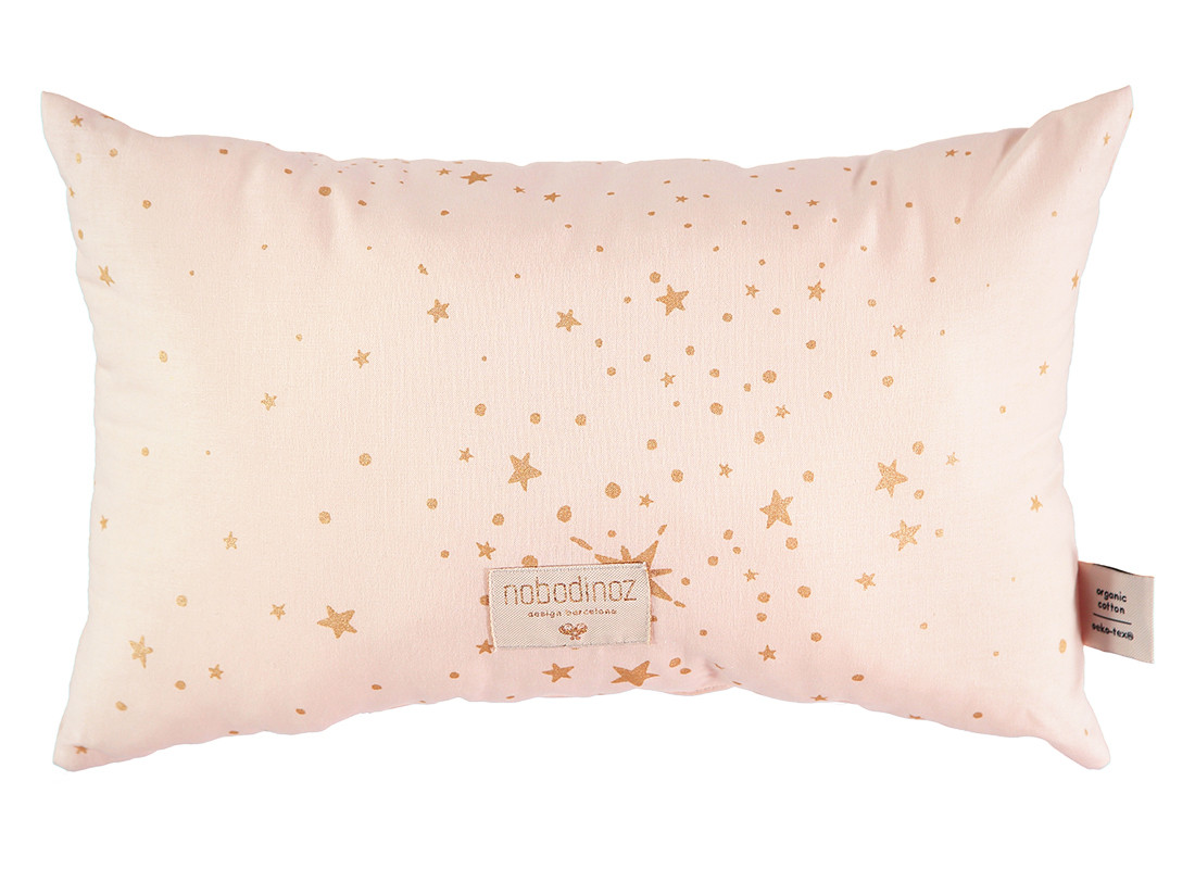 Laurel cushion 22x35 gold stella/ dream pink