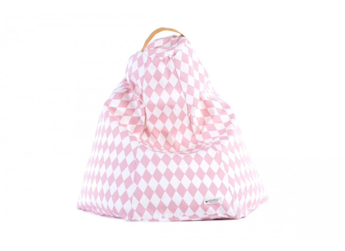 Marrakech kid beanbag • pink diamonds