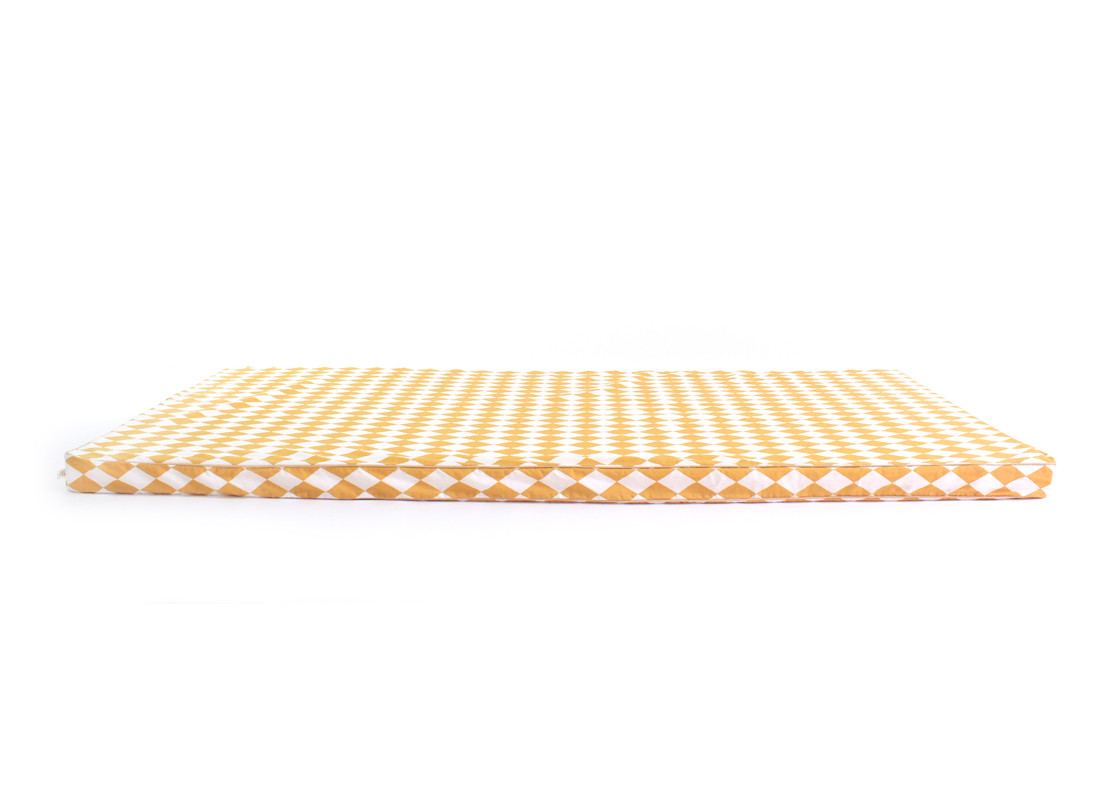 Saint Tropez floor mattress 120X60X4 honey diamonds