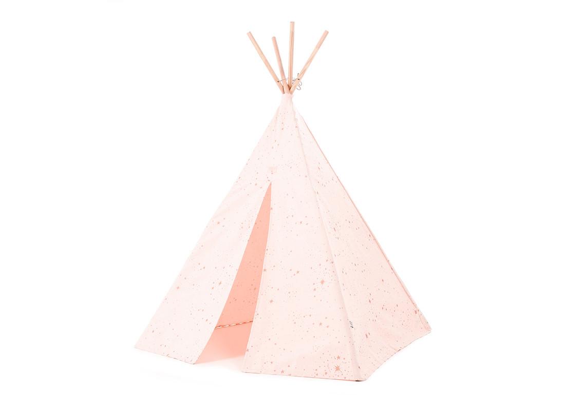 Phoenix teepee • gold stella dream pink