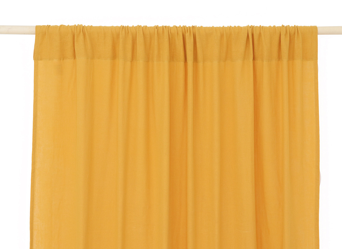 Utopia curtain 146x280 farniente yellow