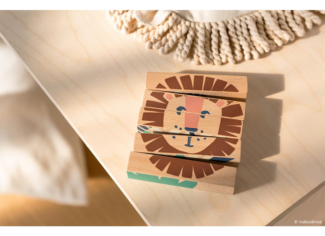 Wild Animals wooden blocks
