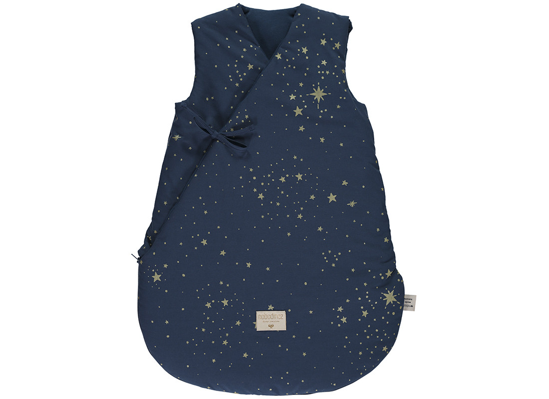 Gigoteuse d'hiver Cloud gold stella night blue - 2 tailles