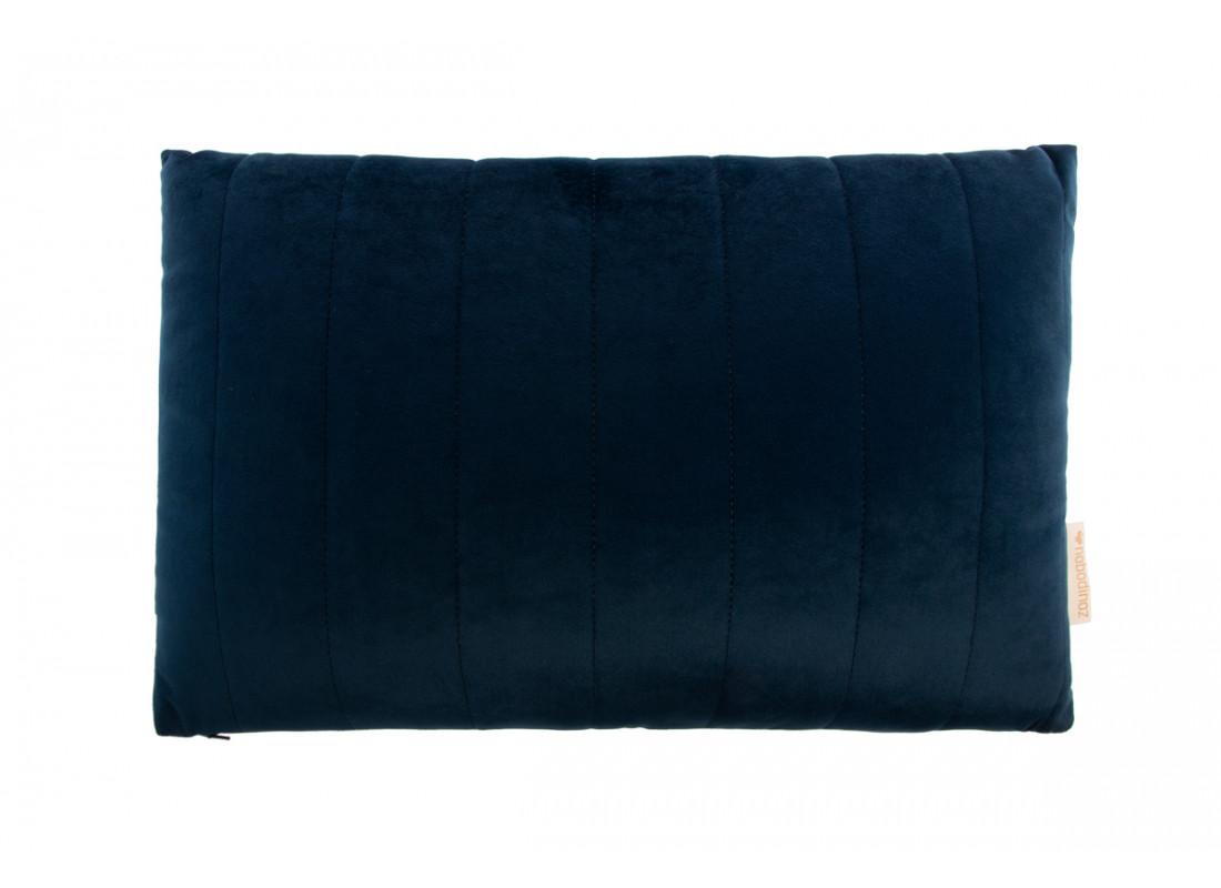 Akamba velvet cushion night blue