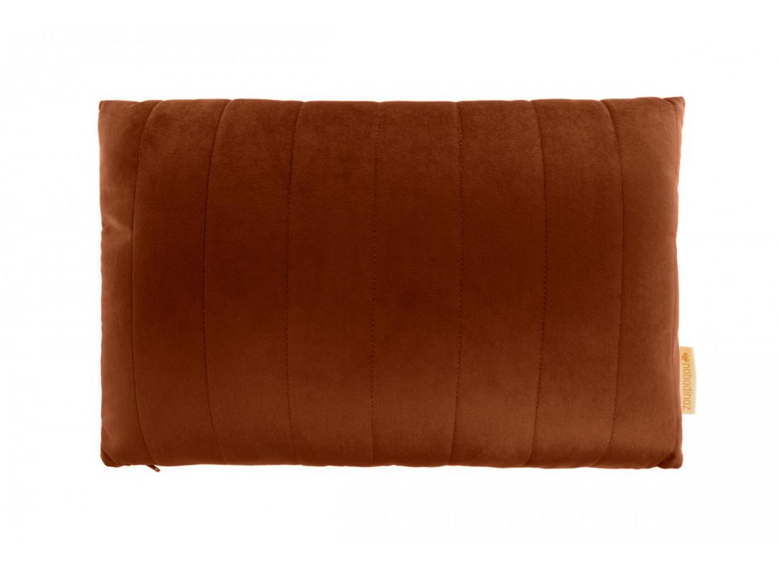 Akamba velvet cushion wild brown