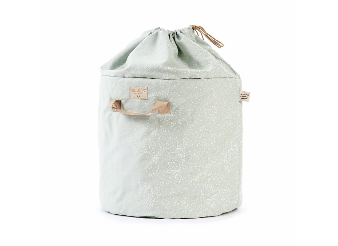 Tapis D Éveil Sac A Jouets sac à jouets bamboo white bubble/ aqua - 2 tailles / website