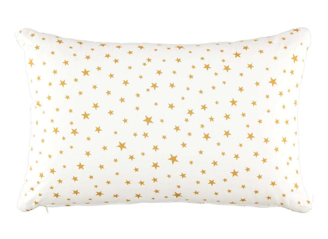 coussin neptune 60 x 40 étoiles moutarde / website officiel / déco